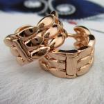 Оригинальные сережки ЛАПКИ, золото 18К (GF)