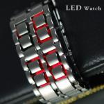 Модные LED часы-браслет Iron Samurai