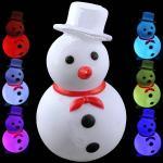 Снеговик светодиодный