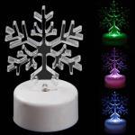 Светодиодная снежинка - милый подарок на НГ