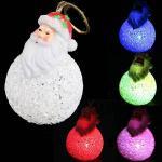 Санта-Клаус светодиодный  - игрушка на елку