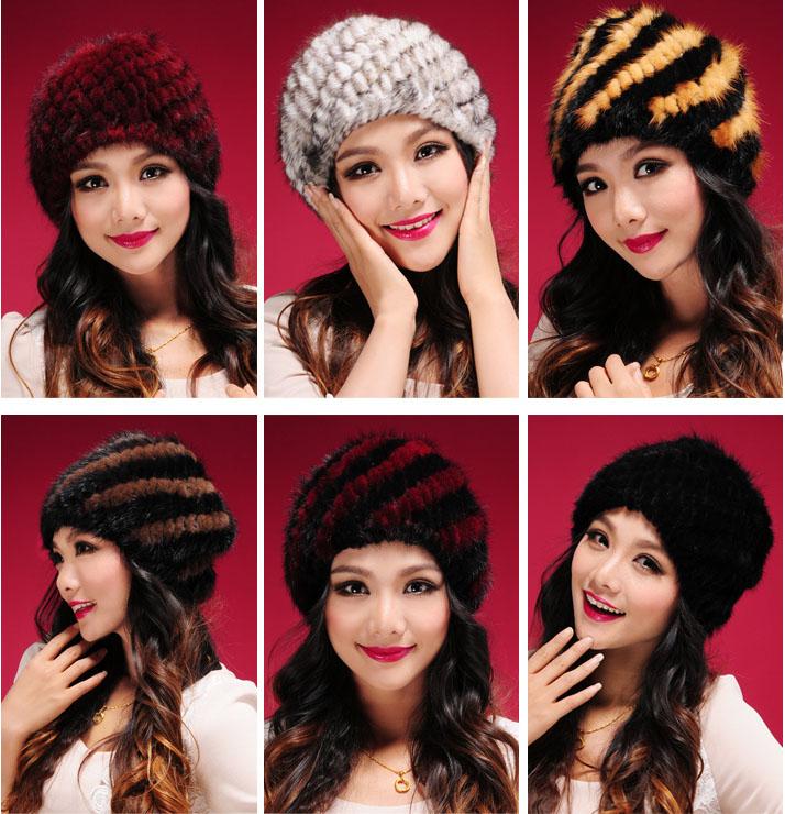 Мех для вязания шапки